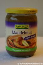 Mandelmus braun BIO 500 g und 250g