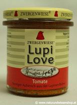 Lupi Love Tomate BIO, Süßlupinenaufstrich 165g im Glas