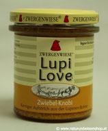 Lupi Love Zwiebel-Knobi BIO, Süßlupinenaufstrich 165g im Glas