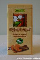 Schokolade Vollmilch Honig Mandel Krokant BIO 100g