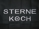 Stickdatei Sternekoch Schrift