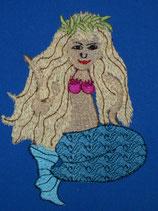 Stickdatei Meerjungfrau