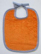 Bindelätzli orange-Streifen