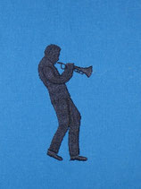 Stickdatei Trompetenspieler