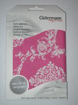 Ornamentstoff pink Gütermann