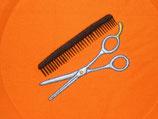 Stickdatei Friseurschere mit Kamm