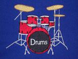 Stickdatei Schlagzeug