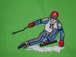 Stickdatei Skifahrer