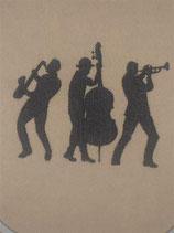 Stickdatei Jazz Musiker