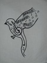 Stickdatei Musikvogel