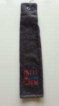 Baghandtuch 30x50 cm mit CREW-Logo