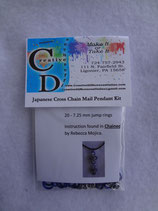 Kit - Japanese Cross Chain Mail Pendant