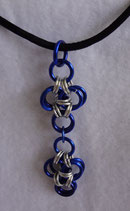 Japanese Cross Chain Mail Pendant