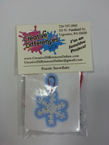 Kit - Puzzle Piece Snowflake - I'm an Intuitive Project