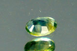 Greenish - blue sapphire