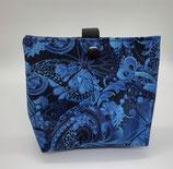 Dogbag Schmetterling schwarz blau