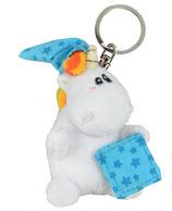 ProduktnamePummel & Friends - Plüsch Schlüsselanhänger - Schlafmütze 7 cm