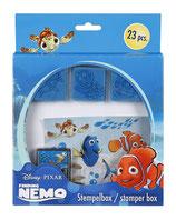 Disney Findet Nemo Stempelbox, 23-tlg.