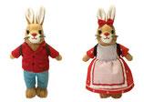 Die häschenschule - Hasenhans & Hasengretchen Set