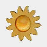 Wohn Dekoration, Sonne mit Achatscheibe klein,