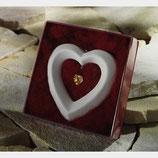 Herz Ornament Swarovski - Kristall