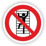 VER-027 Besteigen für Unbefugte verboten