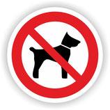 VER-023 Mitführen von Tieren verboten