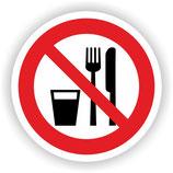 VER-025 Essen und Trinken verboten