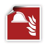 FZ-4 Brandschutzzeichen Löschmaterial nach DIN EN ISO 7010