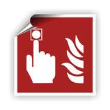 FZ-3 Brandschutzzeichen Brandmelder nach DIN EN ISO 7010
