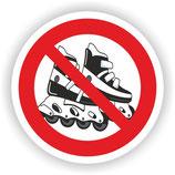 VER-012 Inliner fahren verboten