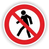 VER-007 Für Fußgänger verboten