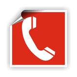FZ-5 Brandschutzzeichen Brandmelde Telefon nach DIN 4844-2
