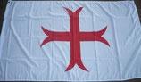 Flagge Fahne Templer Mittelalter Kreuz Rot 90x150cm