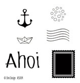 Ahoi #2, Clearstamp - Dini Design