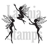 Three Dancing Fairies - Lavinia Stamps