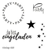 Party, Clearstamp - Dini Design