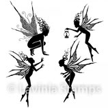 Fairy Foragers - Lavinia Stamps