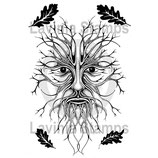 The Green Man (small) - Lavinia Stamps