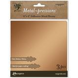 "Vintaj Metal-pressions Adhesive Metal Sheets ""Copper"" - Ranger"
