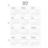 Jahresübersicht 2019