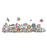 Flower Border - C.C.Designs