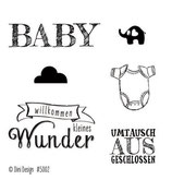 Baby, Clearstamp - Dini Design