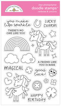 Lots O'Luck, Rainbows & Unicorns Doodle Stamps