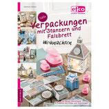 """Bastelheft """"Süße Verpackungen mit Stanzern und Falzbrett Weihnachten"""" - EFCO"""
