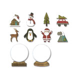 "Thinlits Die Set ""Tiny Snowglobes"" - Sizzix"