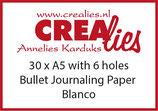 Bullet Journaling Paper, Weiss
