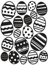 """Prägeschablone """"Easter Egg"""" - Darice"""