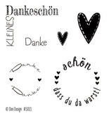 Danke, Clearstamp - Dini Design