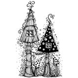 Fairy House - Lavinia Stamps